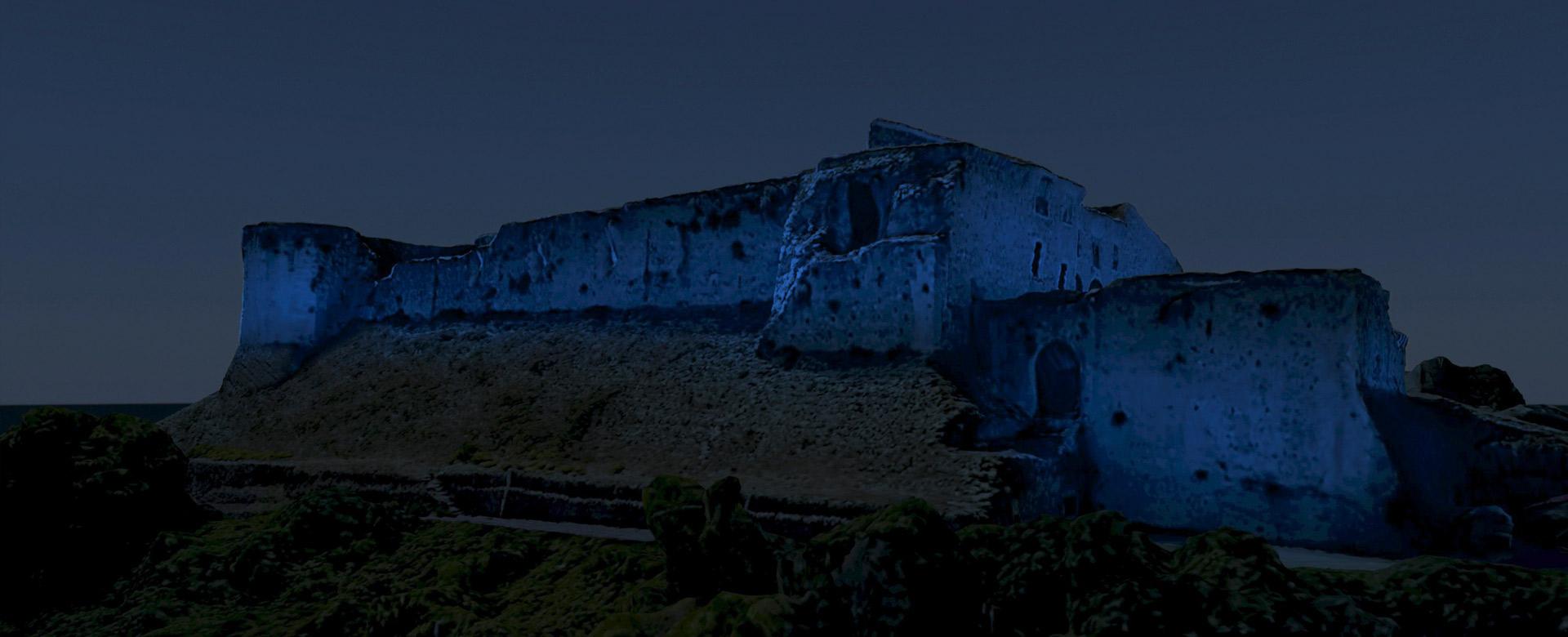 illuminazione_castello_svevo